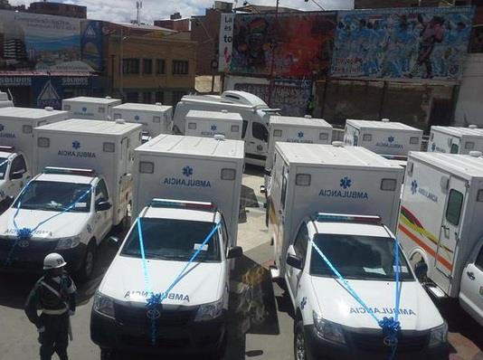 Oruro contar con ambulancias y consultorios odontol gicos for Moviles modernos