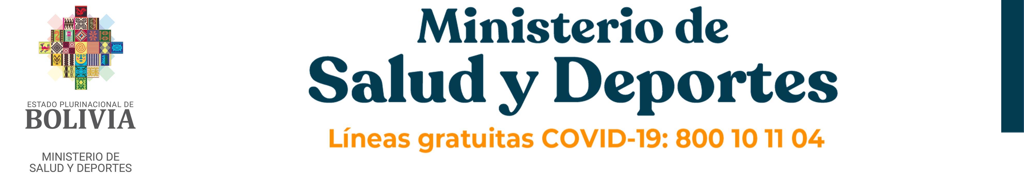 Ministerio de Salud y Deportes de Bolivia